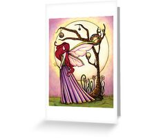 Faery Dream Tree  Greeting Card