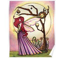 Faery Dream Tree  Poster