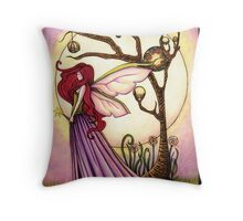 Faery Dream Tree  Throw Pillow