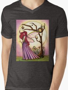 Faery Dream Tree  Mens V-Neck T-Shirt