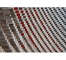 Futuristic wooden architecture Photographic Print