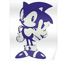 Minimalist Sonic Poster