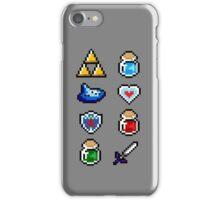 Zelda Items V.2 iPhone Case/Skin