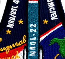 NROL-22 Program Crest Sticker