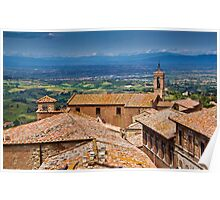 Montepulciano, Tuscany Poster