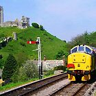 Diesel into Corfe by Mike Streeter