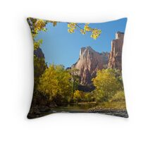 The Court of the Patriarchs in Zion Throw Pillow