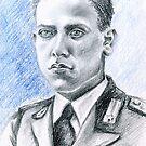 Arnaldo Filippi portrait-WWII Collection by Francesca Romana Brogani