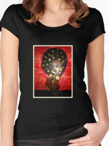 Soul Sista #5 Women's Fitted Scoop T-Shirt