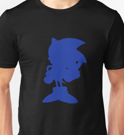 Classic Sonic Silhouette Unisex T-Shirt