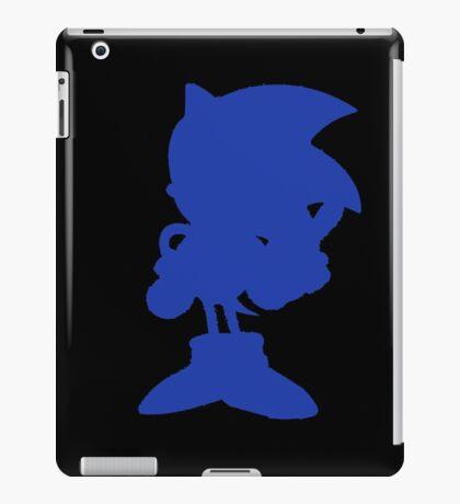 Classic Sonic Silhouette iPad Case/Skin