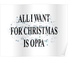 All I Want For Christmas Is Oppa Poster