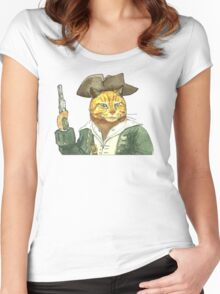 Pirate Orange Women's Fitted Scoop T-Shirt