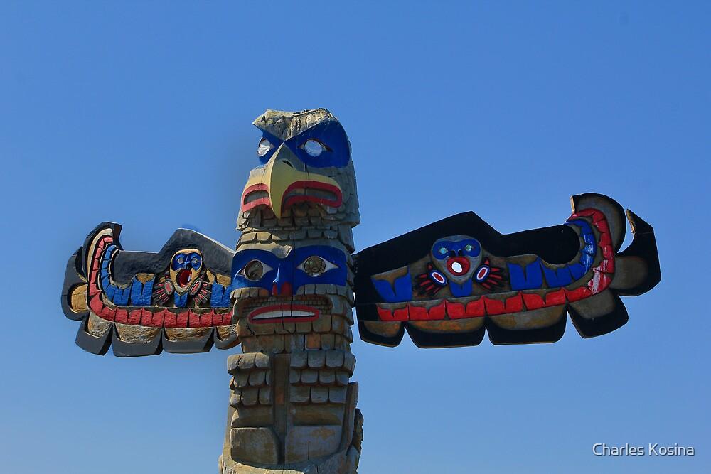 Totem Pole by Charles Kosina