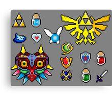 Zelda Overload  Canvas Print