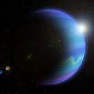 Distant Gas Giant. by wildrider58