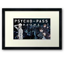 Psycho-Pass Framed Print