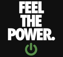FEEL THE POWER. - v3 by cpinteractive