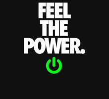 FEEL THE POWER. - v3 Womens Fitted T-Shirt