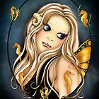 Tranquility - Fairy Portrait  by Concetta Kilmer