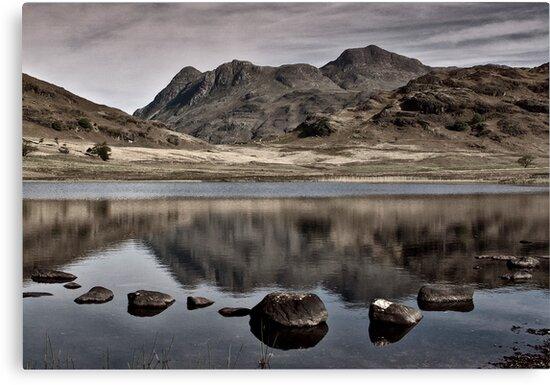 Early Morning at Blea Tarn by Trevor Kersley
