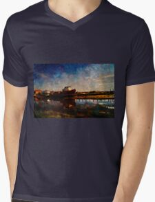 Bridport  Mens V-Neck T-Shirt