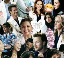 Greys Anatomy - Too Sassy for You Sticker