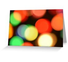 Yellow and Green and Red Oh My! Greeting Card