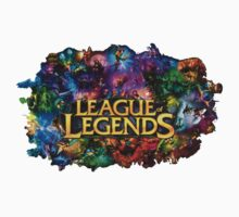 league of legends champions Kids Clothes