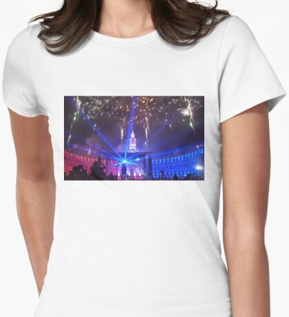 Denver City and County Building  Womens Fitted T-Shirt