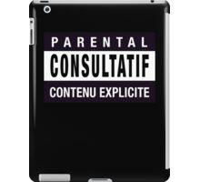 Mind your language - French iPad Case/Skin