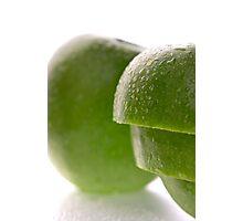 Sliced apple Photographic Print