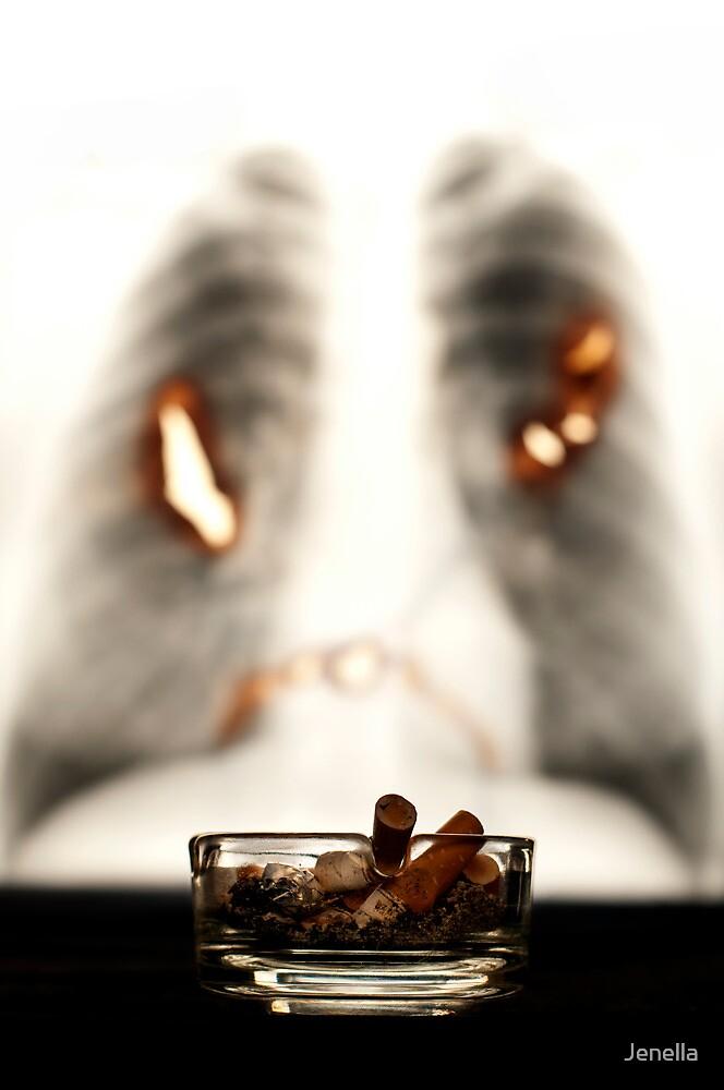 Smoking WILL kill you by Jenella