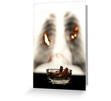 Smoking WILL kill you Greeting Card