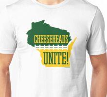 Cheeseheads Unite! Unisex T-Shirt