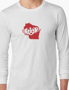 Wisconsin is MAD, Mad, MAD! Long Sleeve T-Shirt
