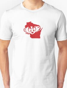 Wisconsin is MAD, Mad, MAD! Unisex T-Shirt