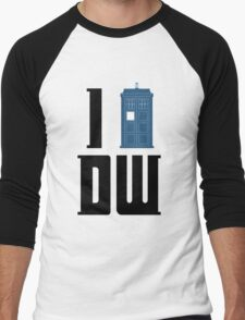 I Tardis Doctor Who Men's Baseball ¾ T-Shirt