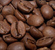 Coffe beans by Jenella