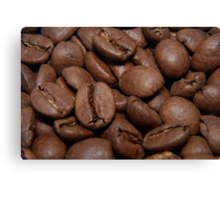 Coffe beans Canvas Print