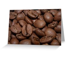 Coffe beans Greeting Card