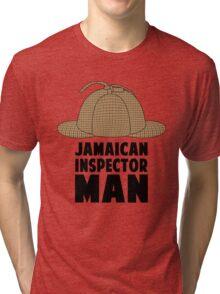 Jamaican Inspector Man Tri-blend T-Shirt