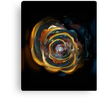 Trash Rose Canvas Print