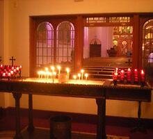 Holy Trinity Greek Orthodox Cathedral Portland Oregon by Sabrina Messenger