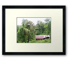 Barn & Willow Framed Print