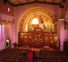Holy Trinity Greek Orthodox Cathedral Portland Oregon by Sabrina Messenger