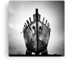 Iceland: Ghost Ship Canvas Print