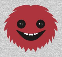 Happy Little Red Hairy Thing by onebaretree