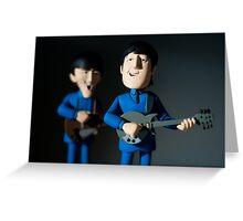 John Lennon and George Harrison, The Beatles Greeting Card