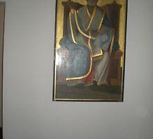 Icon of St. Nicholas of Myra by Sabrina Messenger